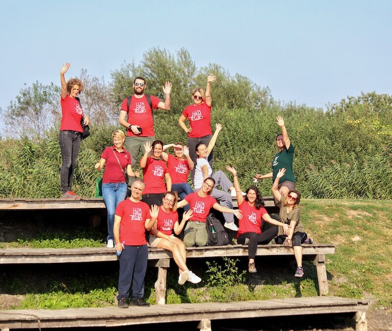 """Event with Media in Serbia – Volunteering action """"A day for Obedska bara"""""""